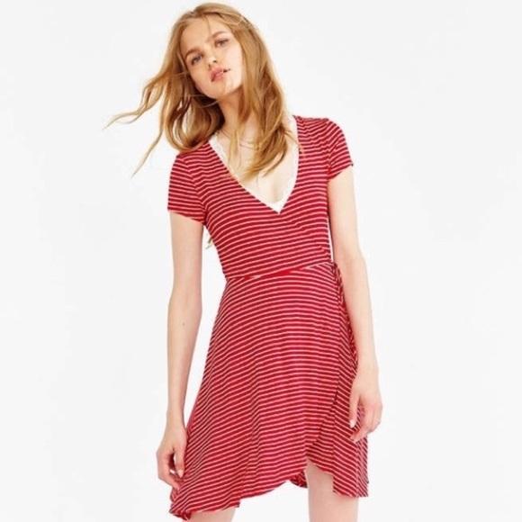 642529633995 Urban Outfitters Dresses | Kimchi Blue Ballet Surplice Dress | Poshmark